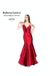 Prom red dress
