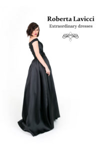 luxury prom dress