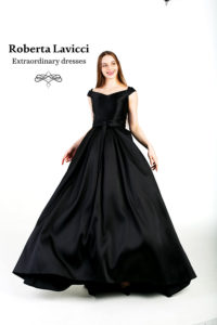 Black tie dress code dress