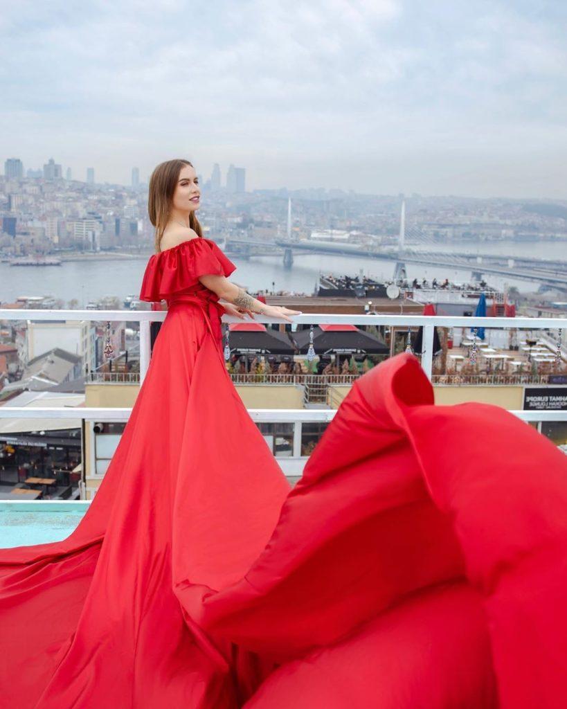 Фотосессия на крыше Стамбул