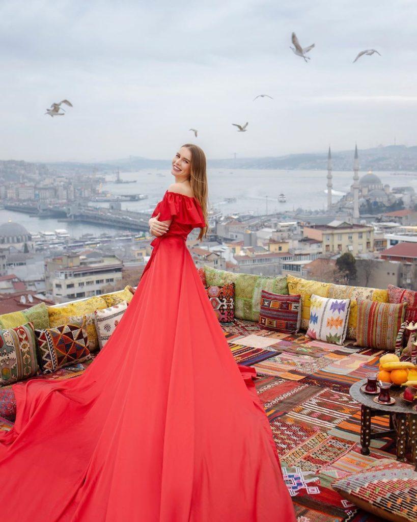Фотосессия в Стамбуле на крыше